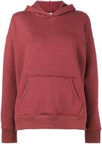 Simon Miller Frayed seam hoodie