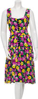 Givenchy Floral Belted Dress