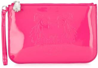 Kenzo embossed Tiger clutch