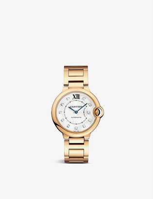 Cartier CRWE902026 Ballon Bleu de 18ct rose-gold and diamond watch
