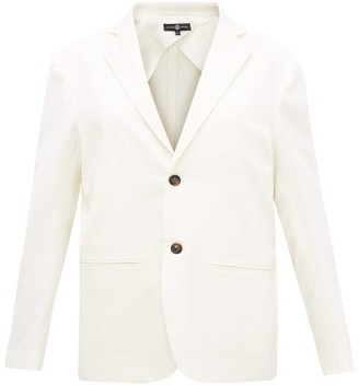 Edward Crutchley Single-breasted Wool Blazer - Ivory