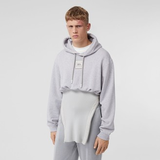 Burberry Reconstructed Cotton Hoodie