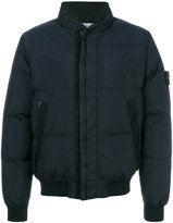 Stone Island padded jacket - men - Feather Down/Polyamide/Polyurethane Resin/Feather - 46
