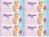 6x Johnson's Baby Wipes Gentle Cleansing Pack of 56 Wipes (336 Wipes)
