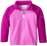 Columbia Glacial Half Zip Jacket (Toddler/Kid) - Bright Red-2T