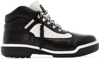 Mastermind Japan x Timberland monochrome boots
