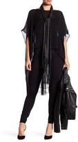 Thomas Wylde Hi-Lo Silk Tunic