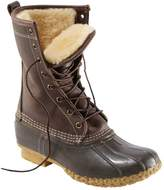 "L.L. Bean Women's Bean Boots by L.L.Bean, 10"" Shearling-Lined"