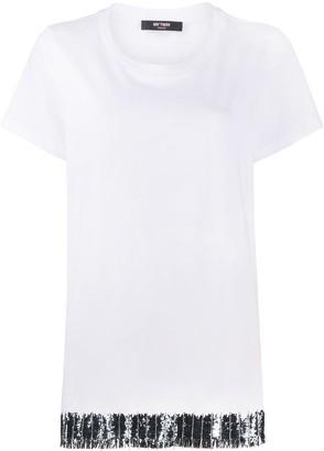 Twin-Set sequin detail T-shirt
