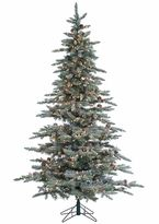 Sterling 7.5' Lightly Flocked McKinley Pine Artificial Christmas Tree
