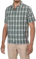 Woolrich Overlook Dobby Shirt - Organic Cotton, Short Sleeve (For Men)