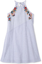 Speechless Floral Embroidered Dress, Big Girls (7-16)