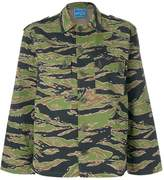 MiH Jeans Golborne Road Collection tiger camouflage shirt