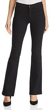 J Brand Sallie Mid Rise Bootcut Jeans in Vanity