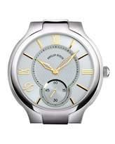 Philip Stein Teslar Stainless Steel Large Round Two-Hand Watch Head