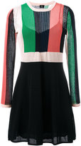 Paul Smith A-line knitted dress - women - Cotton/Cupro - M