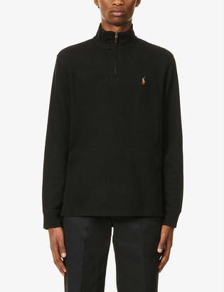 Polo Ralph Lauren Estate half-zip cotton jumper
