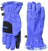 Isotoner Women's smarTouch NeverWet Packable Gloves with Microluxe