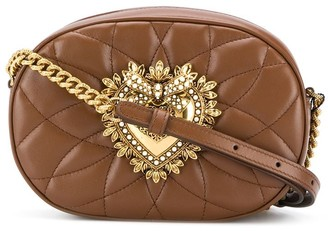 Dolce & Gabbana Devotion quilted camera bag