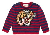 Gucci Infant Intarsia Tiger Wool Sweater