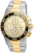Technomarine TECHNO MARINE Techno Marine Mens Two Tone Bracelet Watch-Tm-215046