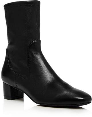 Stuart Weitzman Women's Ernestine Mid-Calf Leather Boots