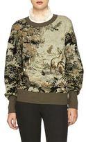 Burberry Intarsia Silk-Blend Sweater