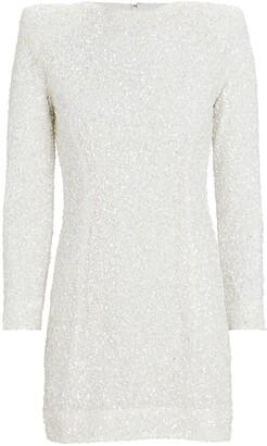 retrofete Nikki Sequin Mini Dress