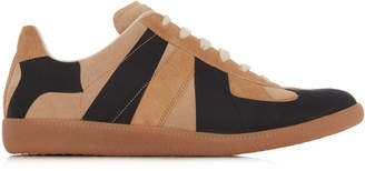 Maison Margiela Replica Laser Two-Tone Suede Sneakers
