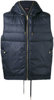 Moncler Gamme Bleu padded gilet - men - Cotton/Feather Down/Polyamide - 2