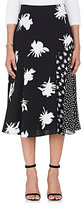 Prabal Gurung Women's Floral Silk Flared Skirt