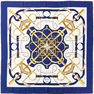 Hermes Les Epees, By Carre Silk Scarf