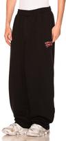 Vetements Large Heavy Sweatpants in Black.