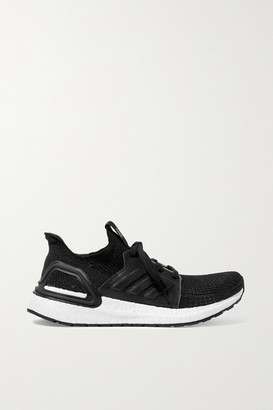 adidas Ultraboost 19 Mesh And Rubber-trimmed Primeknit Sneakers - Black