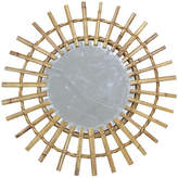 One Kings Lane Vintage Midcentury French Bamboo Wall Mirror