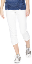 Motherhood Secret Fit Belly Highline Crop Maternity Jean