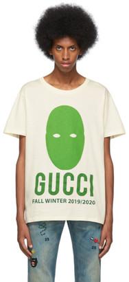 Gucci Off-White Oversize Manifesto T-Shirt