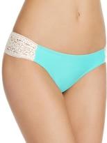 Jessica Simpson Crochet Side Bikini Bottom