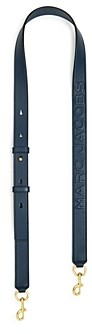 Marc Jacobs Mj Debossed Leather Strap