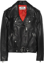 Acne Mape leather biker jacket
