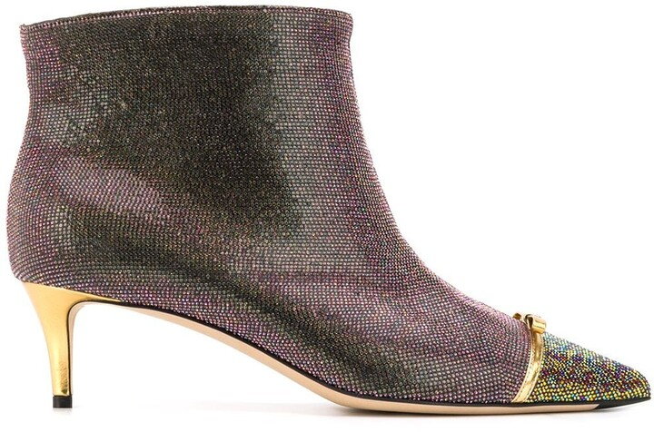 Marco De Vincenzo Pointed Toe Ankle Boots