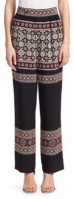 Sea Loose Fit Printed Pants