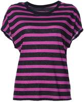 RtA striped short-sleeve T-shirt