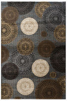 "MANUFACTURER'S CLOSEOUT! Kenneth Mink Area Rug, Jamestown CHA-102 Black 3'3"" x 5'3"""