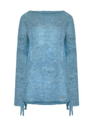 You By Tokarska Fog Ada Tunic Sweater Jeans