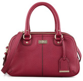 Cole Haan Village Small Triple Zip Satchel, Wine