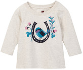 Tea Collection Afortunado Graphic Tee (Baby Girls)