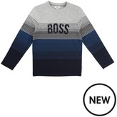 BOSS Boys Long Sleeve T-Shirt