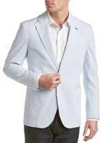 Tailorbyrd Striped Seersucker Jacket.
