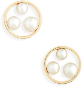 Mikimoto Pearl Stud Earrings